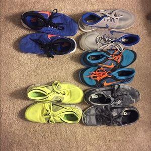 Nike's -5 pairs of Men's 11-11.5
